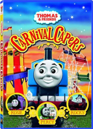 dvd thomas and friends carnival capers